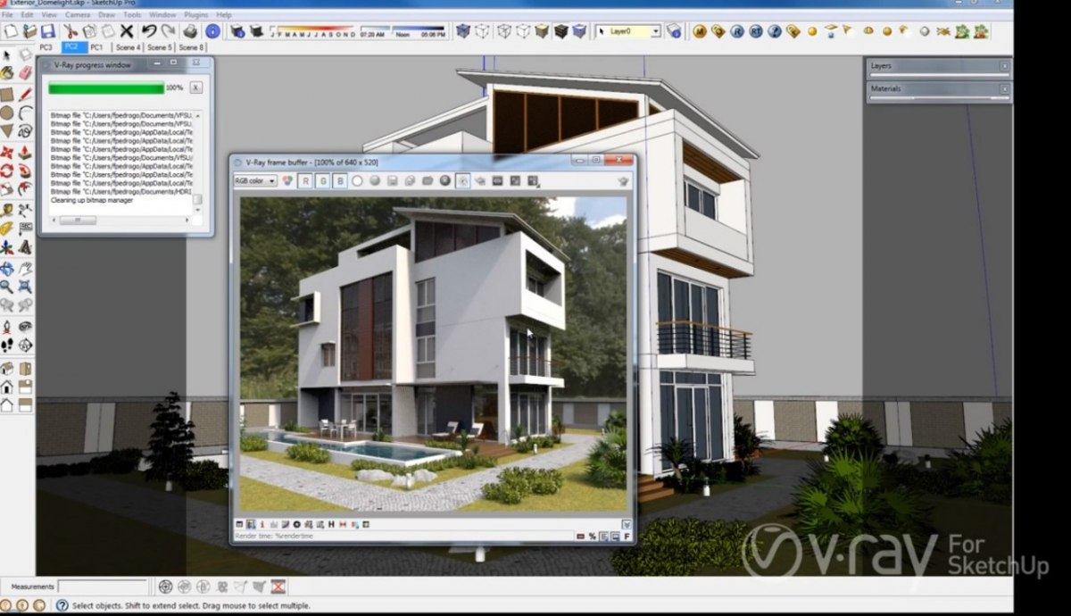 V-Ray 3.6 dla SketchUp Pro Workstation + klucz USB ChaosGroup