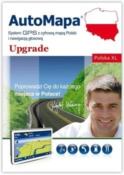 AutoMapa Polska XL Upgrade
