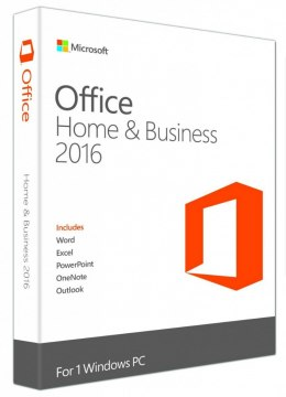 Office Home & Business 2016 PL Win 32-bit/x64