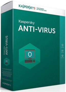 Kaspersky Anti-Virus 2017 PL - 2PC / 1 rok
