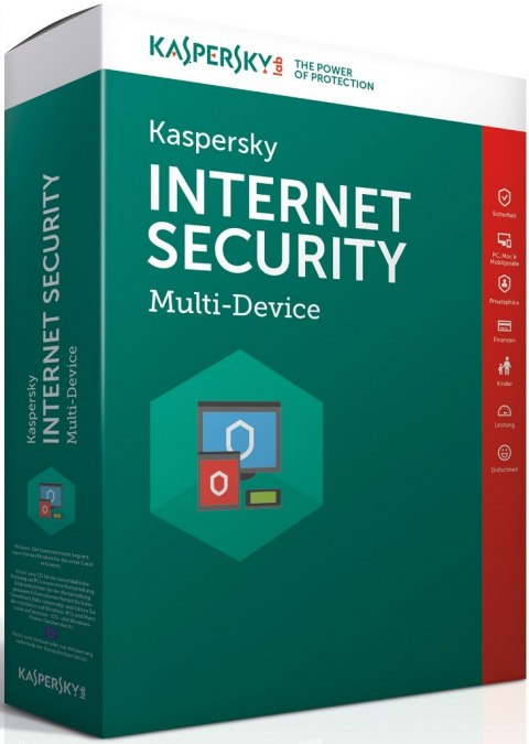 Kaspersky Internet Security 2017 PL - 1 PC/ 1 Rok