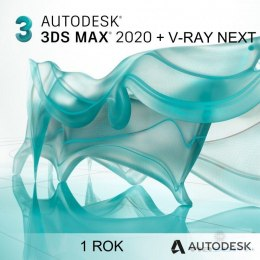 3ds Max 2020 + V-Ray NEXT - 1 rok