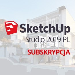 Sketchup Studio 2019 PL Win/Mac - 1 rok