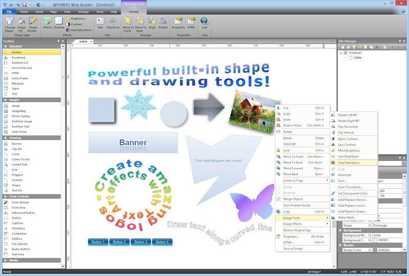 361c7bd9c90b51 Ponad 200 nowych funkcji i ulepszeń! WYSIWYG Web Builder 15